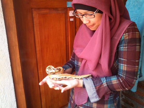 Together with snake :)